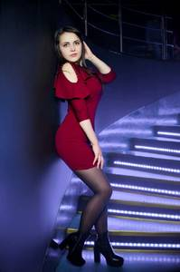 Платье короткое вечернее коктейльное У6841