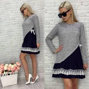 Платье короткое повседневное У1681