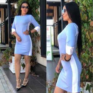 Платье короткое элегантное У6385