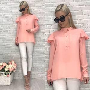 Блузка с длинным рукавом У6760