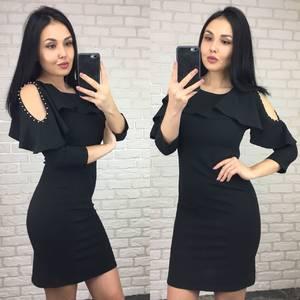 Платье короткое вечернее коктейльное У6842