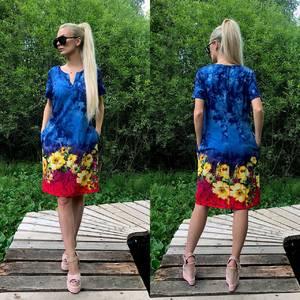 Платье короткое летнее У6425