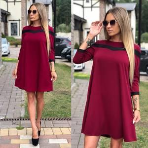 Платье короткое вечернее У6463