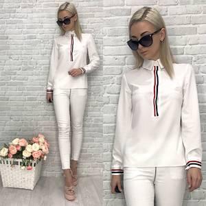 Блузка с длинным рукавом У6744