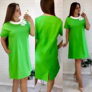 Платье короткое летнее У6429