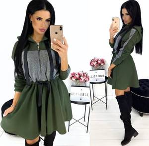 Платье короткое современное Ю2745
