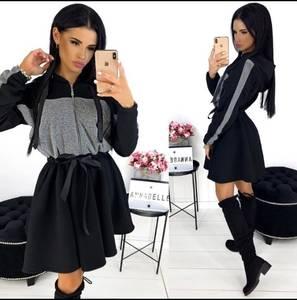 Платье короткое современное Ю2749