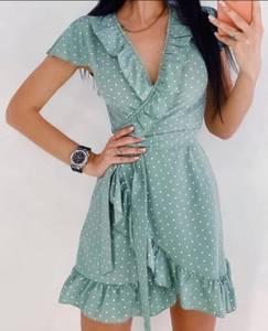 Платье короткое летнее Я9143