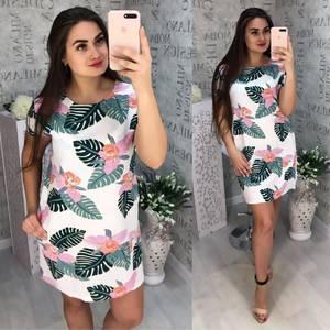 Платье короткое летнее Я0064