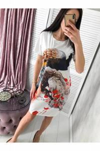 Платье короткое летнее Я0066