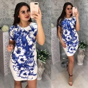 Платье короткое летнее Я0062