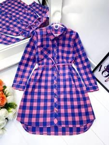 Платье короткое с длинным рукавом А36421
