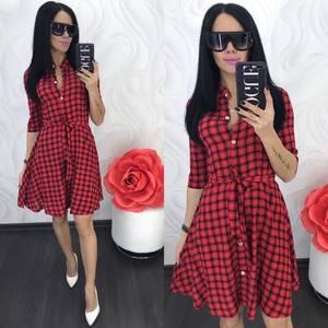 Платье короткое современное Ц7063