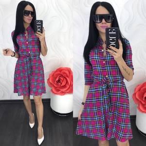 Платье короткое современное Ц7064