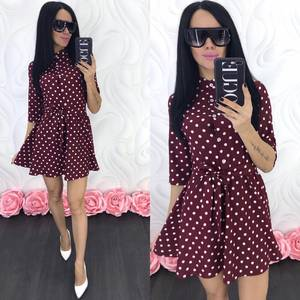 Платье короткое современное Ц7067