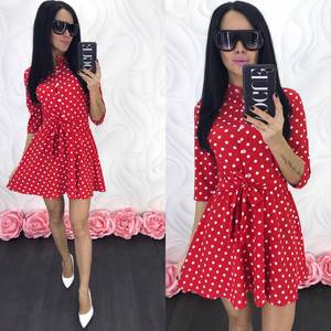 Платье короткое современное Ц7068