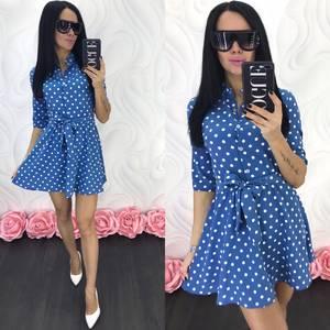 Платье короткое современное Ц7070