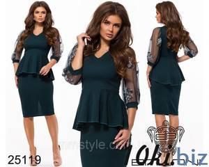 Платье нарядное современное короткое нарядное Ц7030