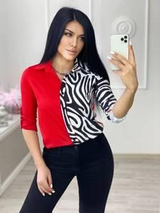 Блуза с длинным рукавом А29623