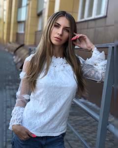 Блуза белая Ч8634