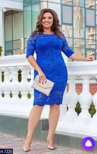 Платье короткое нарядное Ш2061