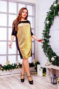 Платье короткое нарядное Ю2834