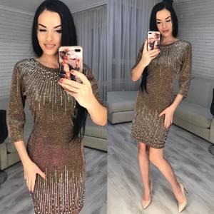 Платье короткое нарядное Ю2994