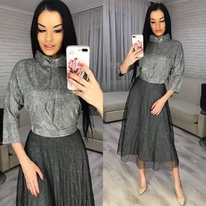 Платье короткое нарядное Ю3041