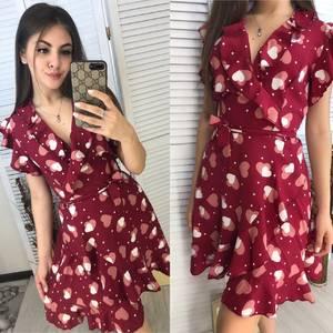 Платье короткое летнее Я9147