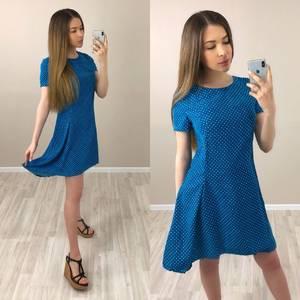 Платье короткое с принтом вечернее Т4037