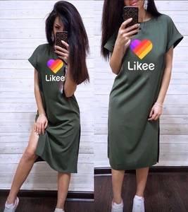 Платье длинное летнее А04737
