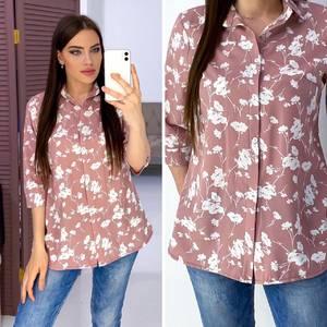Рубашка с принтом А06843