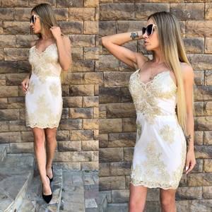 Платье короткое нарядное облегающее Т4285