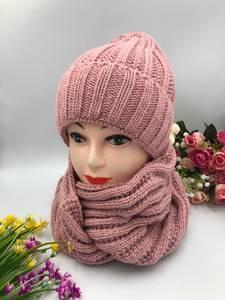 Шапка и шарф Хомут А10745
