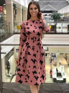 Платье короткое нарядное А10805