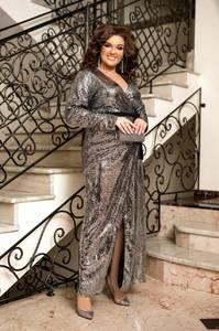 Платье длинное нарядное А19674