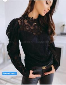 Блуза с длинным рукавом А19890