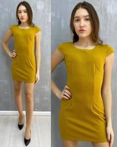 Платье короткое без рукавов А30098