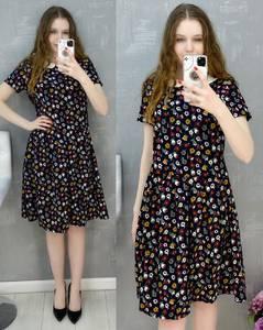 Платье короткое повседневное А30578