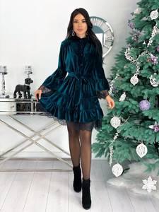 Платье короткое нарядное А31318