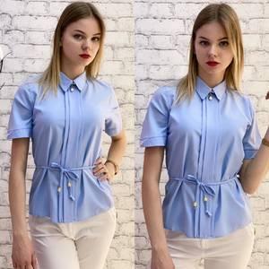 Блузка с коротким рукавом А37529