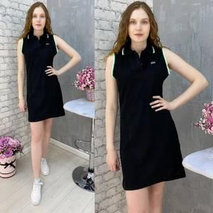 Платье короткое без рукавов А37573