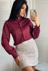 Блуза с длинным рукавом А13127