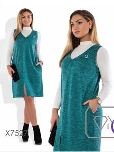 Платье короткое повседневное А19886
