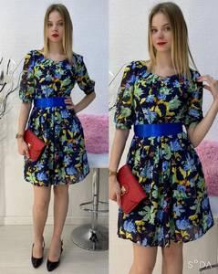 Платье короткое повседневное А30587