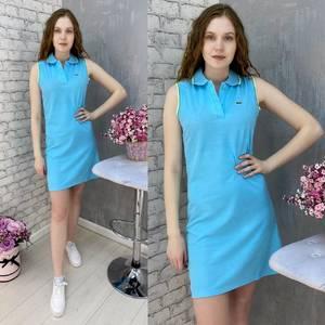 Платье короткое без рукавов А37582