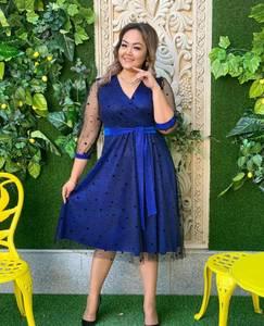 Платье короткое нарядное А19645