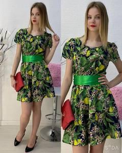 Платье короткое повседневное А30588