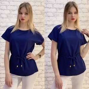 Блузка с коротким рукавом А37539