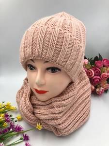 Шапка и шарф Хомут А10755